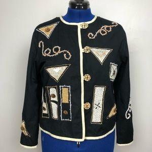 Allure Jacket Embellished Beautiful Blazer